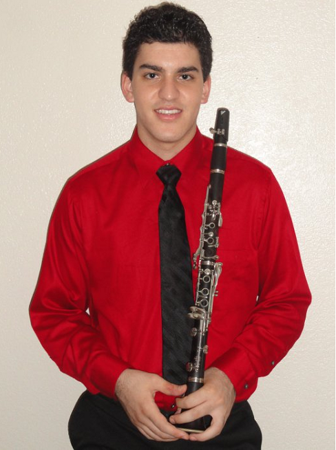 Dobson student to play in Honor Band of America Alex-DergalInside