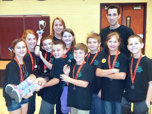 Coronado wins rookie trophy at Lego League HigleyFIRST-Lego-League2Inside