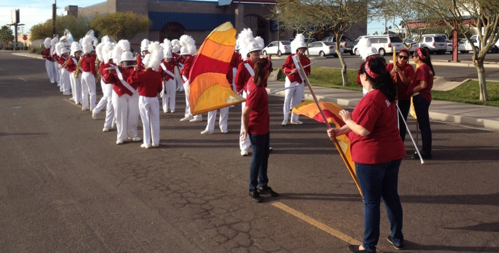 Kofa High School Marching Band