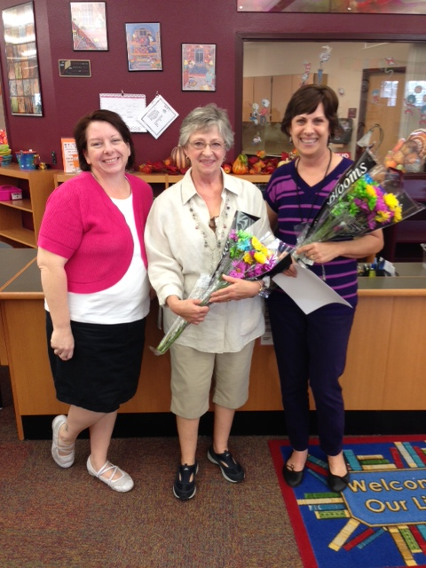 Lake Pleasant School honors nurses Nurse-Barb-and-Nurse-Carla