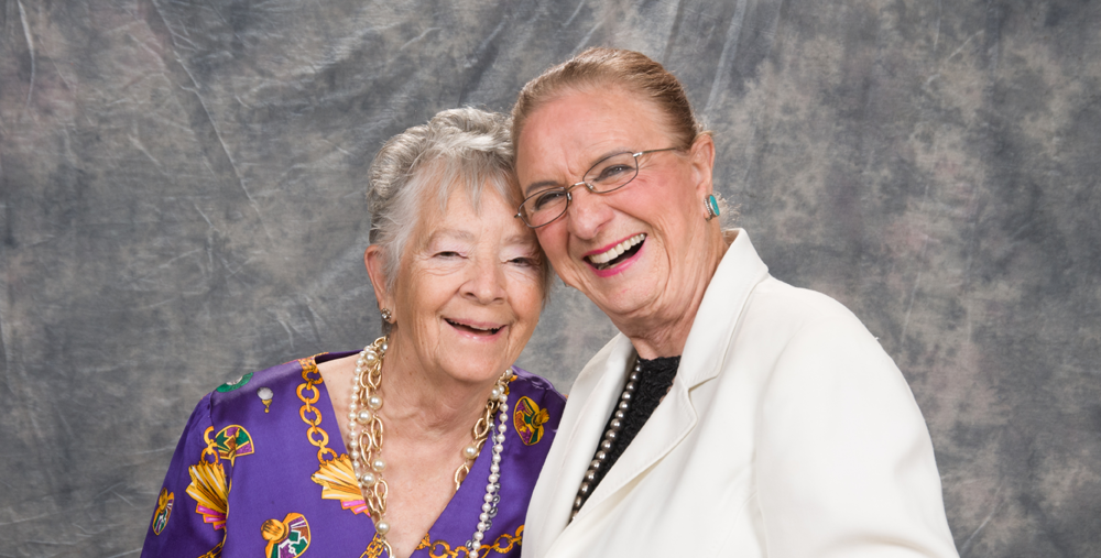 Barbara Robey And Carolyn Warner