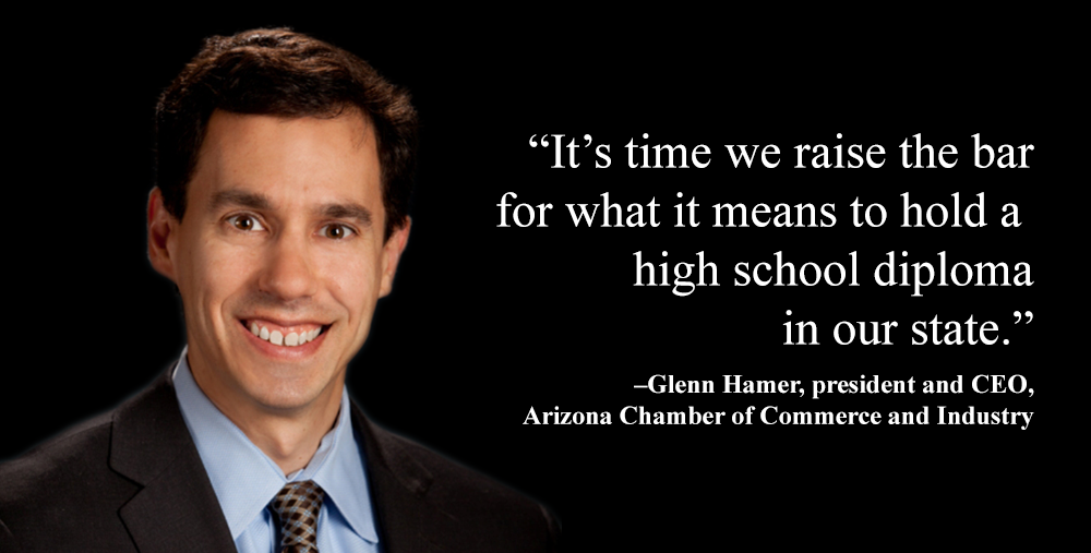 Ariz. Chamber's CEO talks new standards, preparing students for workforce glenn-hammer-1000