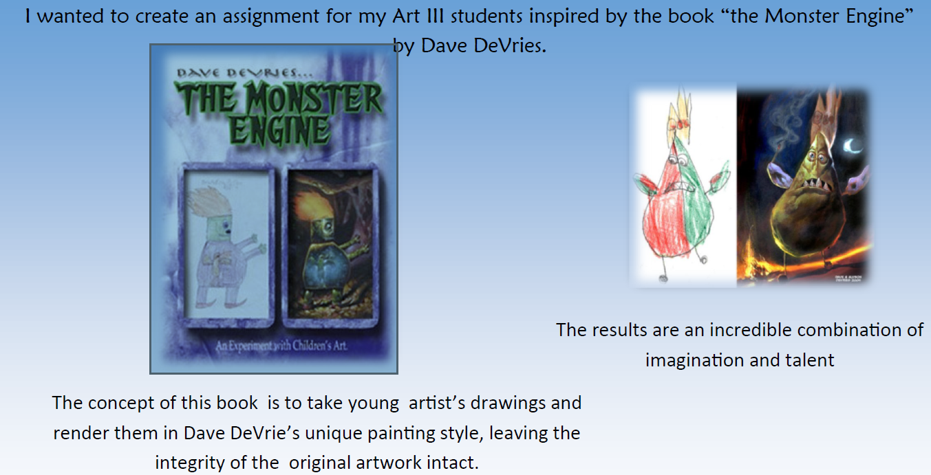 Sahuarita art students bring fantasy creatures to life TheMonsterEngine1