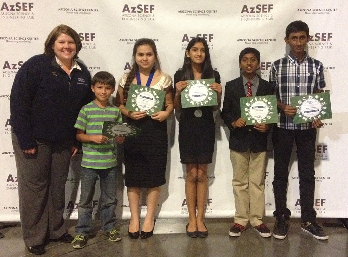 Photos: Arizona Science and Engineering Fair 2014 AzSEF_GEOS-winners-700