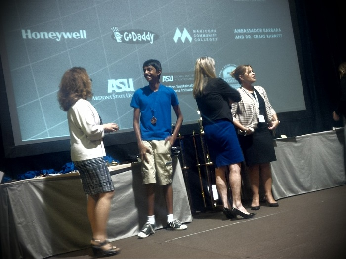 Photos: Arizona Science and Engineering Fair 2014 AzSEF_Pic-11-_-Awards-Night_Dhruv-Iyer-700