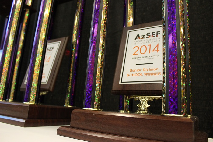 Photos: Arizona Science and Engineering Fair 2014 AzSEF_Pic-2_-School-Awards-700