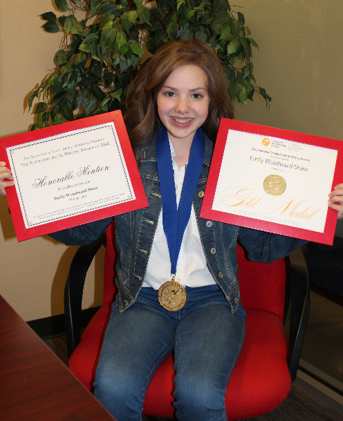 Chandler student honored for photography in Scholastic Art and Writing Awards EmilyAthlosInside