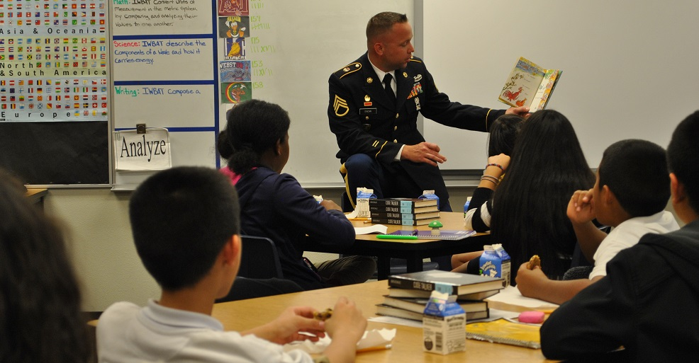 Laveen school custodian named AZ National Guard's Instructor of the Year LaveenJoshuaSnowHP