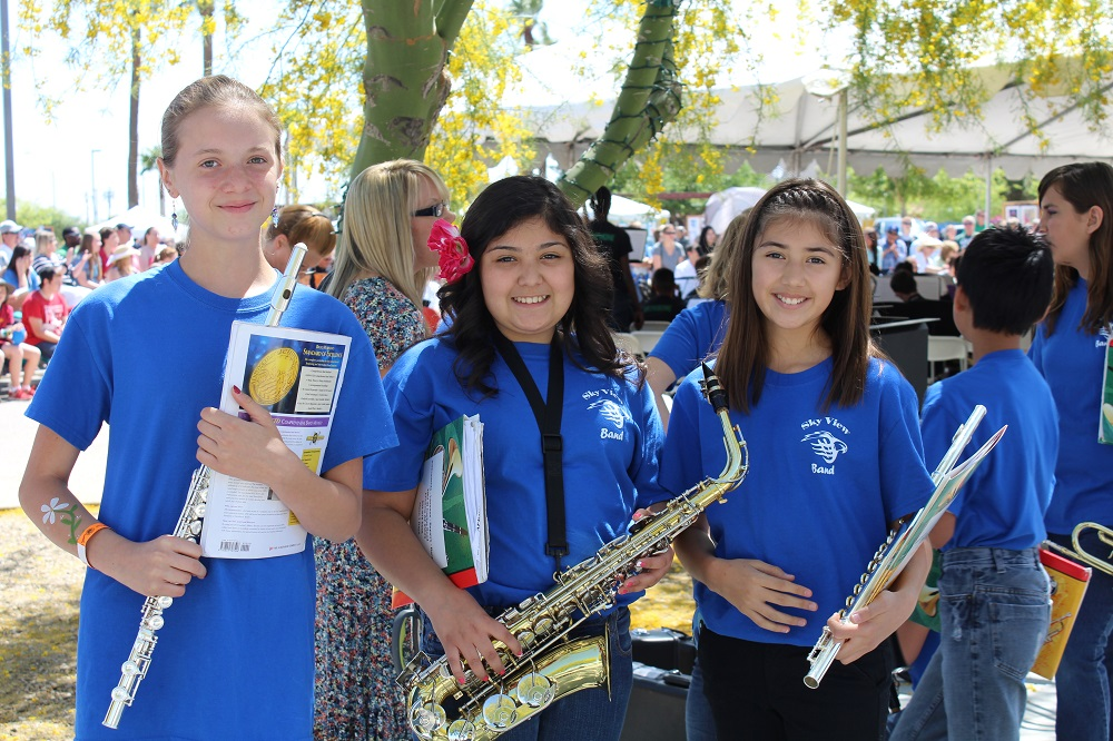 Report: Access to arts education in Arizona increases, but improvement needed PeoriaSkyviewBandInside