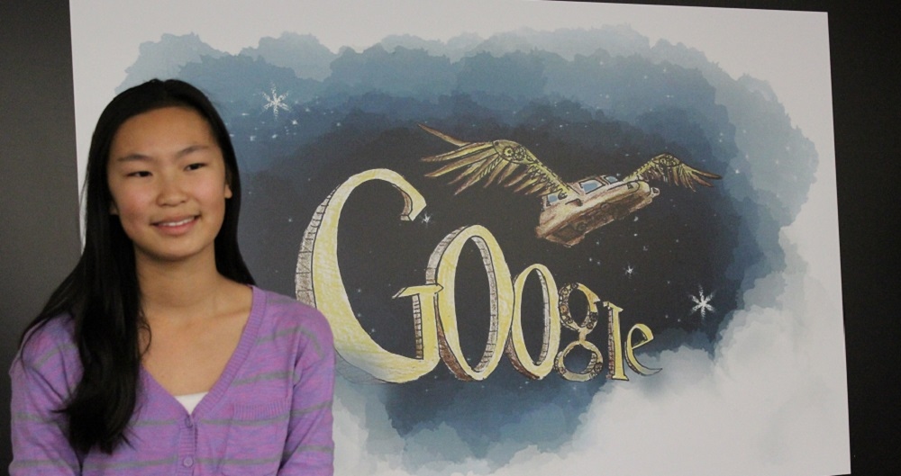 Desert Mountain student wins Doodle 4 Google contest for Arizona TracyZhangHP
