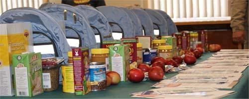 Reaching out to hungry kids during the school year BackpacksWithFoodInside