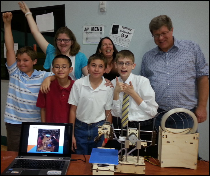 Legacy Traditional students win first place for 3-D printer they built MC-MCE-3Dprinter-contestInside