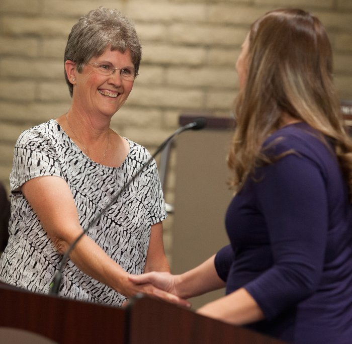 Mesa Public Schools celebrates top employees MesaBonnieRoberts