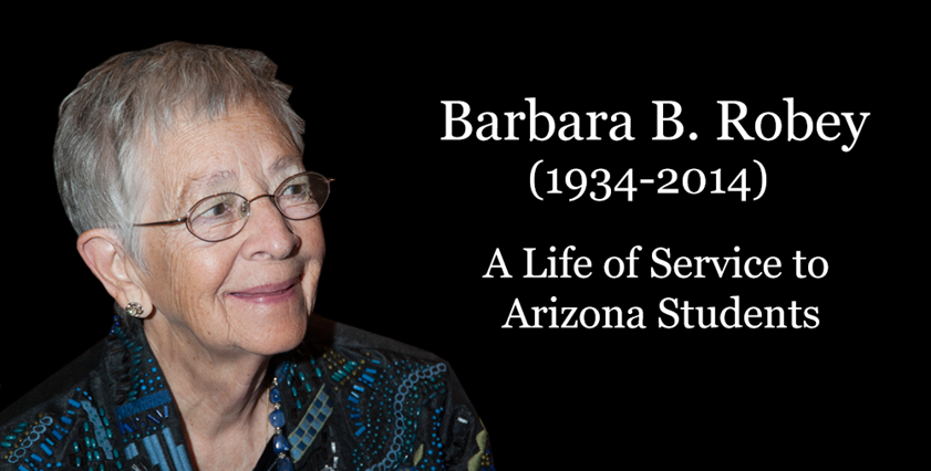 Education champion Barbara Robey passes away BarbaraRobeyHP