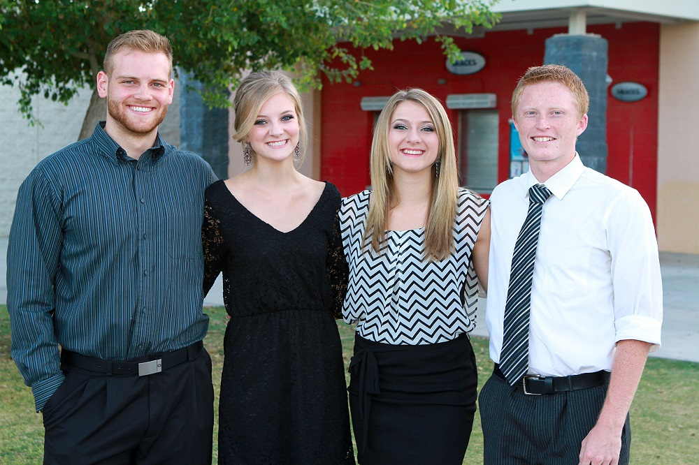 Seniors awarded Ken Vandehei Memorial Scholarships KV-Scholarship-winners-2014Inside