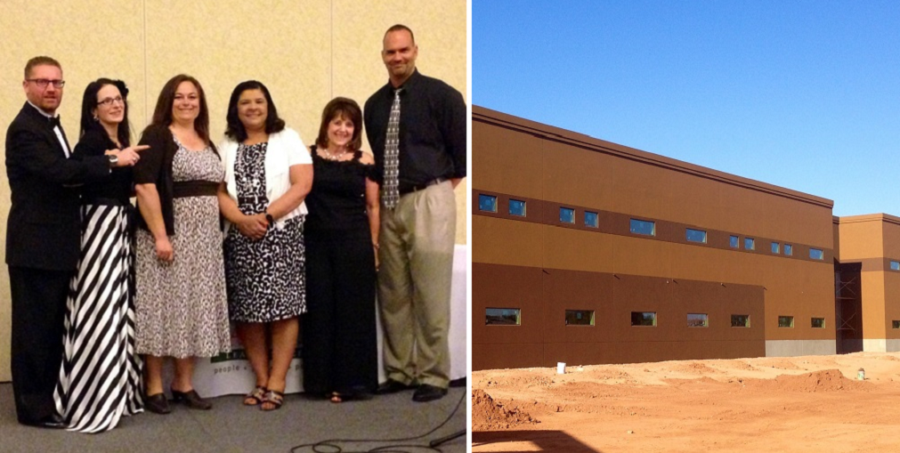 San Tan Charter School Leadership From Left To Right: