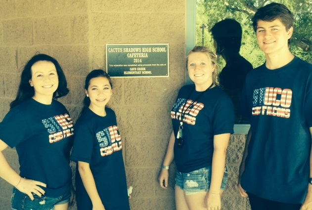 Cactus Shadows hosts student council conference CactusShadowsHighSchoolStuGovInside