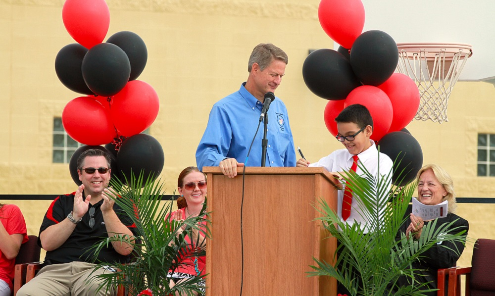 Centennial Elementary celebrates ranking as No. 1 K-6 district school in Arizona CentennialCelebrationHP