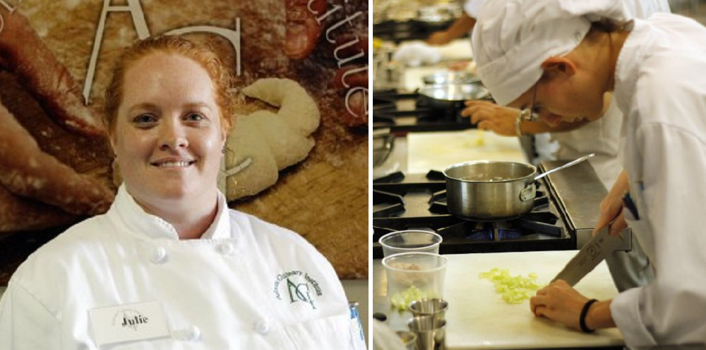 Arizona Culinary Institute Student Of The Month Julie Mitchell