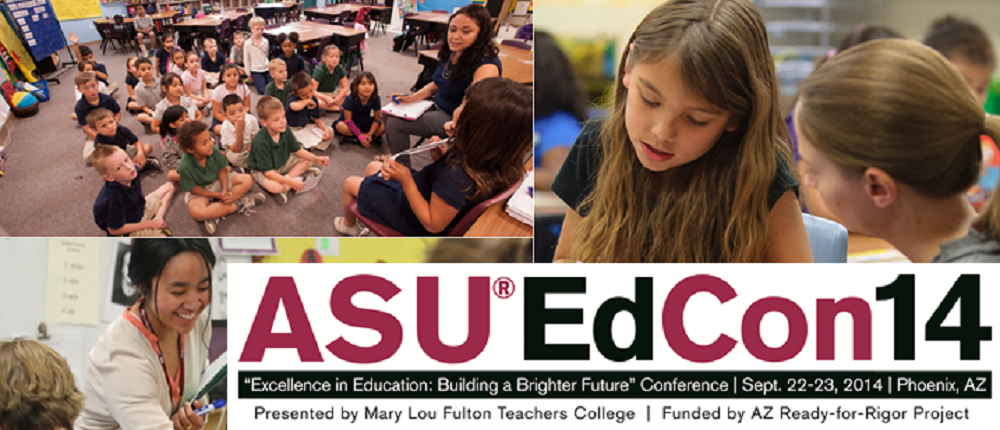 National Researchers And Local Educational Practioners Will Be Gaterhing For ASU Sponsored K-20 Education Conference, Sept. 22-23, In Phoenix