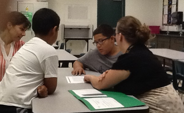 Schools put focus on parent engagement, see link to student success HearlandRanchParentNight600