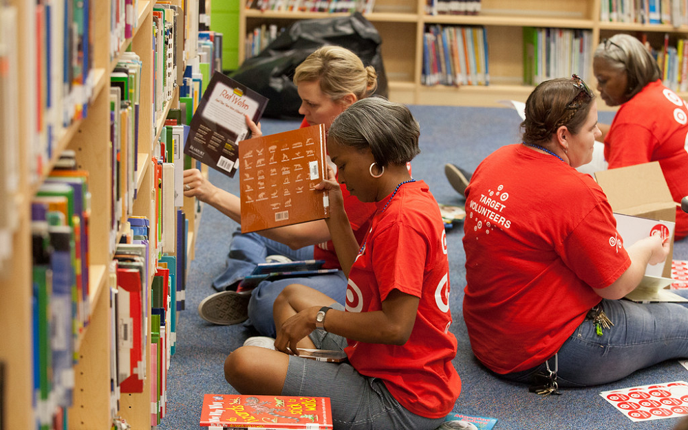 Field Elementary unveils newly renovated library MesaPublicVolunteers