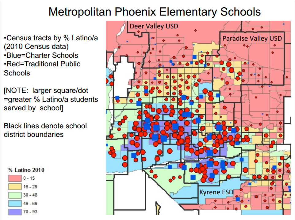 Race, ethnicity, poverty factor into the re-segregation of Arizona's schools MetropolitanPhoenixElementarySchools