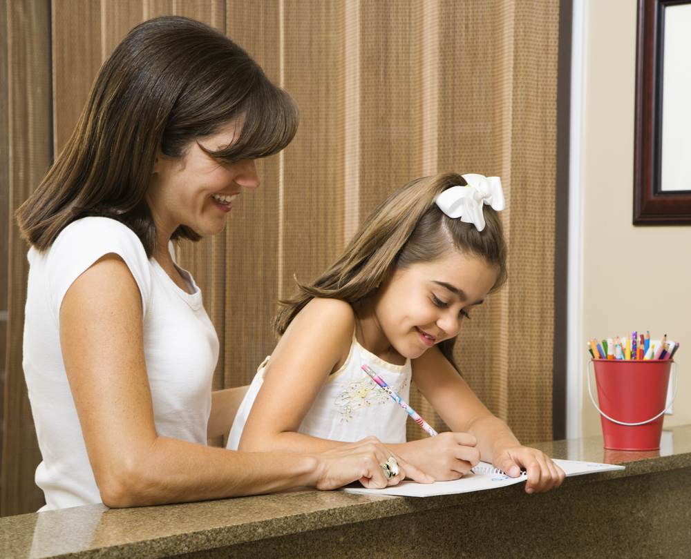 Schools put focus on parent engagement, see link to student success MotherDaughterHomework