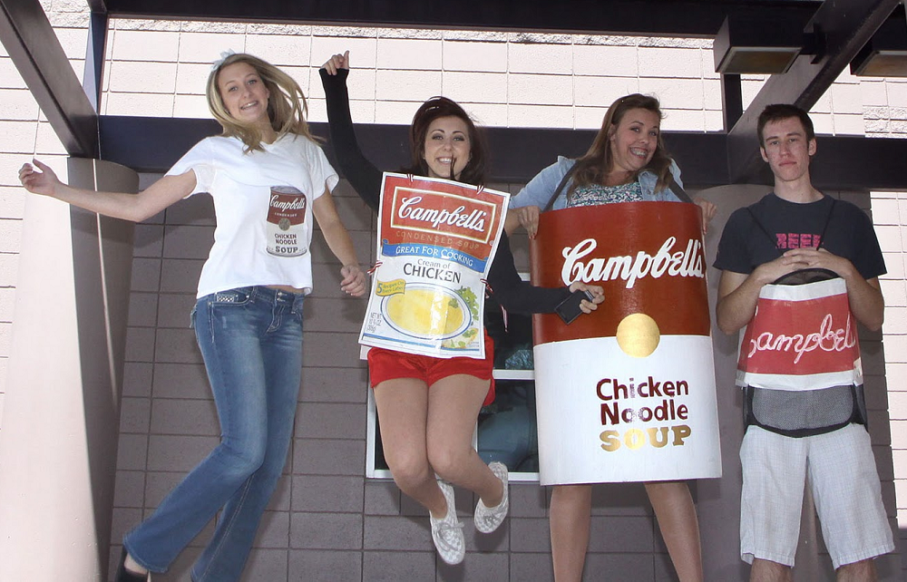 Annual Camelback Halloween food drive fills bags for others CamelbackHighSchoolFoodDriveHP