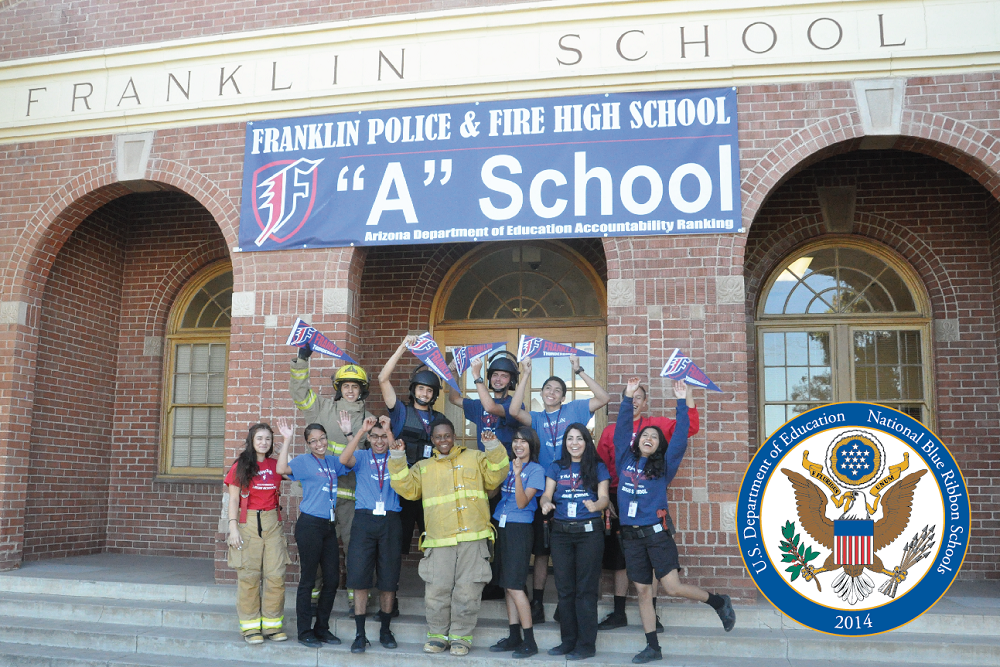 Arizona's National Blue Ribbon Schools share secrets to their students' success FranklinBlueRibbonSchoolHP
