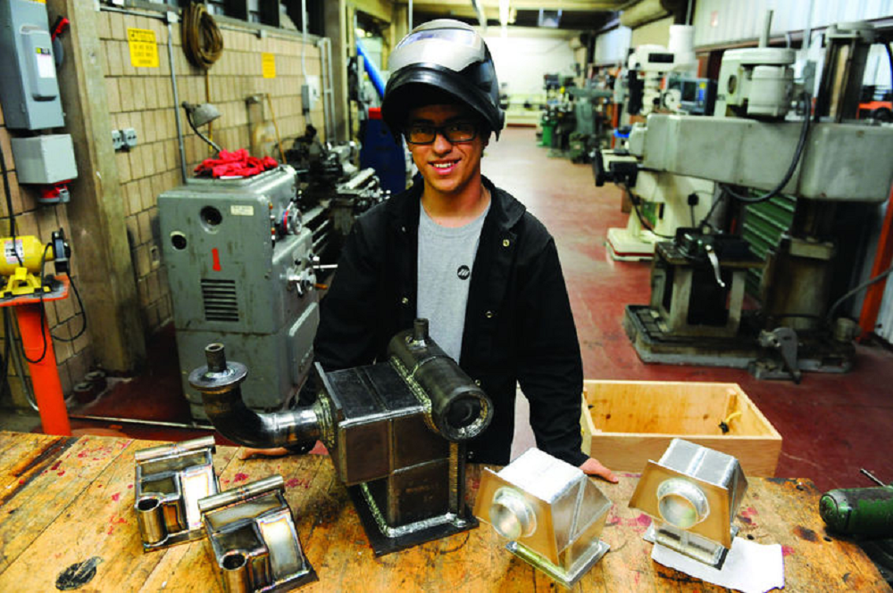 Yuma welding student trains for international competition IsaiahGaspar