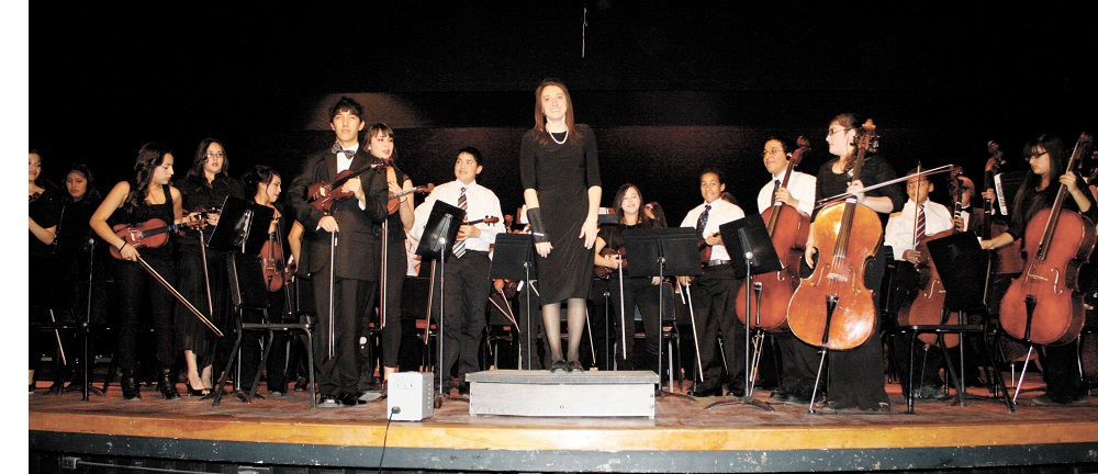 Why music - and teachers - matter: A Q&A with one of Arizona's top teachers MargieLooneyHighSchoolStrings
