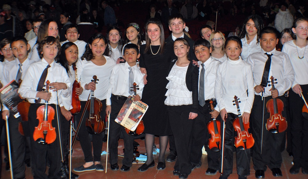 Why music - and teachers - matter: A Q&A with one of Arizona's top teachers MargieLooneyOrchestraHP2