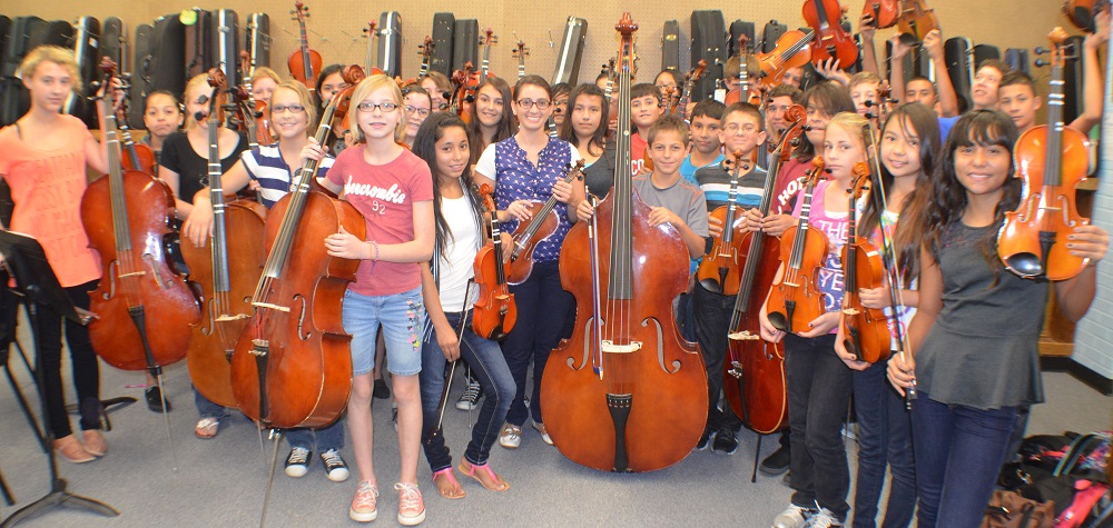 Why music - and teachers - matter: A Q&A with one of Arizona's top teachers MargieLooneyStringsHP3