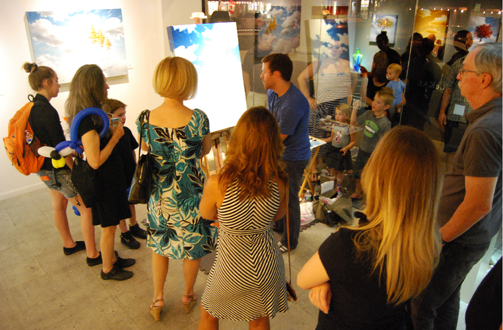 Scottsdale students participate in ArtWalk ScottsdaleGalleryAssociationArtWalkHP1