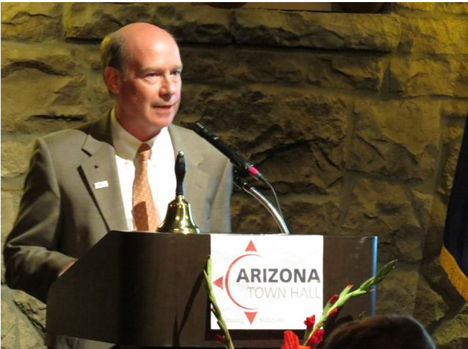 Education, workforce development lead Arizona Town Hall priorities AZTownHall2014ScottRhodes
