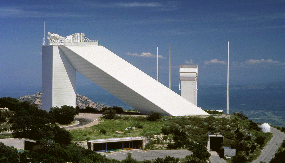 The McMath-Pierce Solar Telescope Located On Kitt Peak, Arizona Is The Largest Solar Telescope In The World.