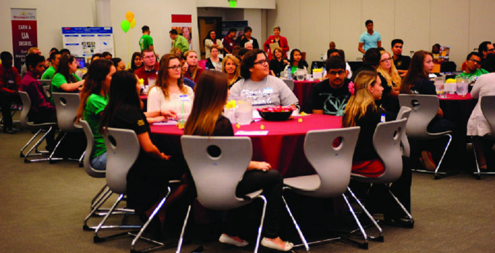 Teens Take Part In Last Year's Yuma Youth Town Hall. Photo Courtesy Of The Yuma Sun