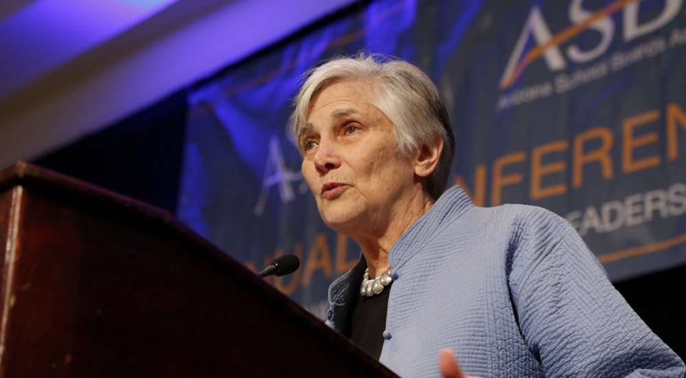 Diane Ravitch, A Research Professor Of Education At New York University, To A Recent Gathering Of Arizona Educators And School Board Members In Phoenix On Dec. 11, 2014.