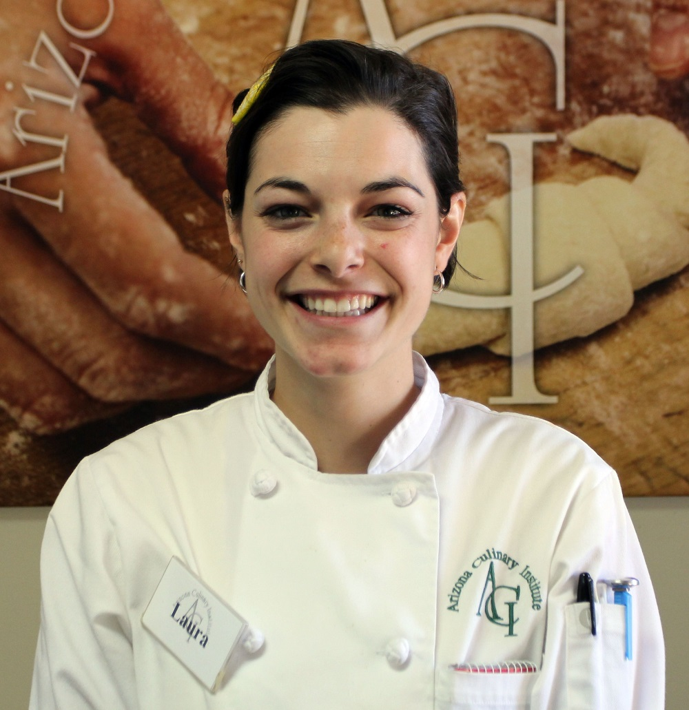 Laura Callan finds bliss at Arizona Culinary Institute Laura-CallanInside2