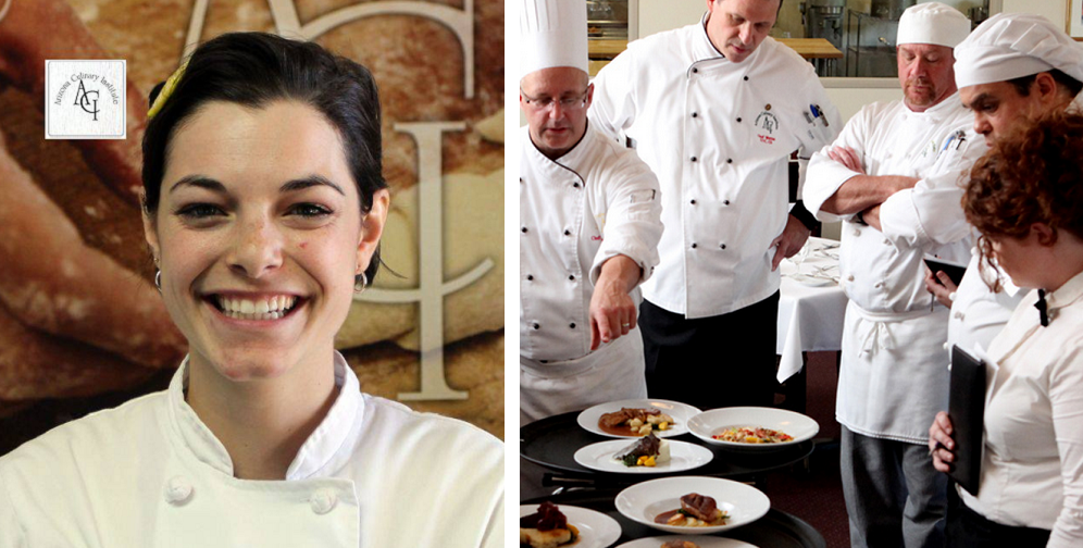 Arizona Culinary Institute's December 2014 Student Of The Month Laura Callan