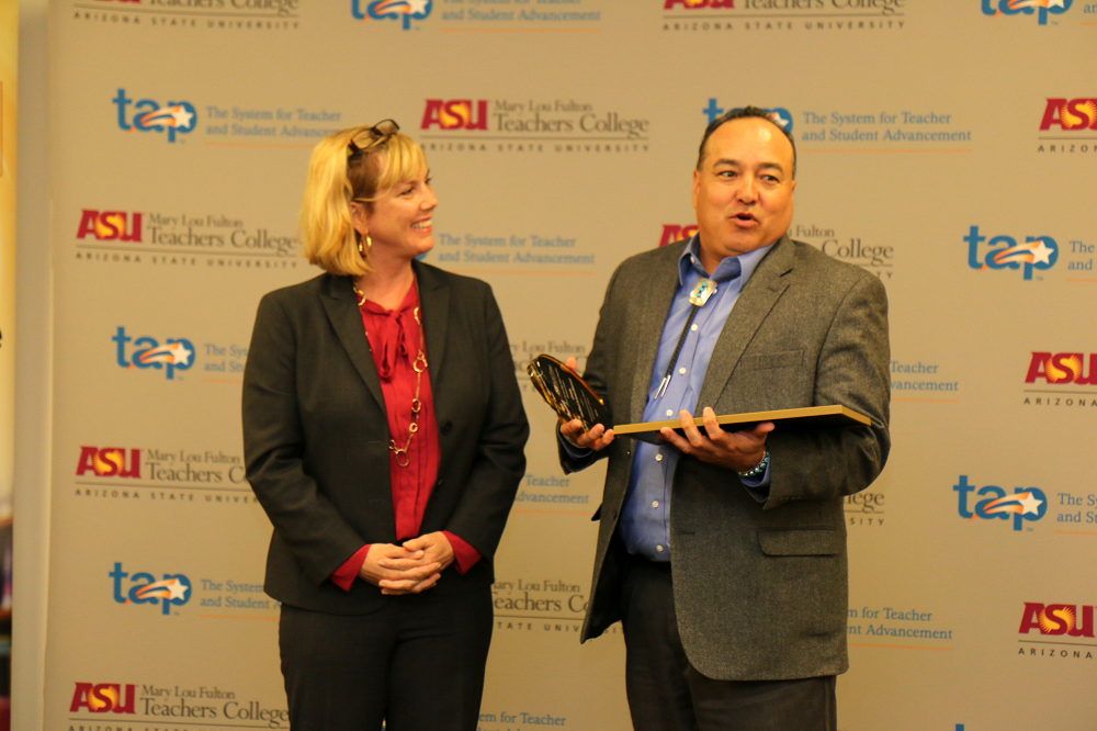 ASU Educational Excellence Impact Awards' recognizes outstanding K-12 schools ASUEducationalImpactAwardsInside