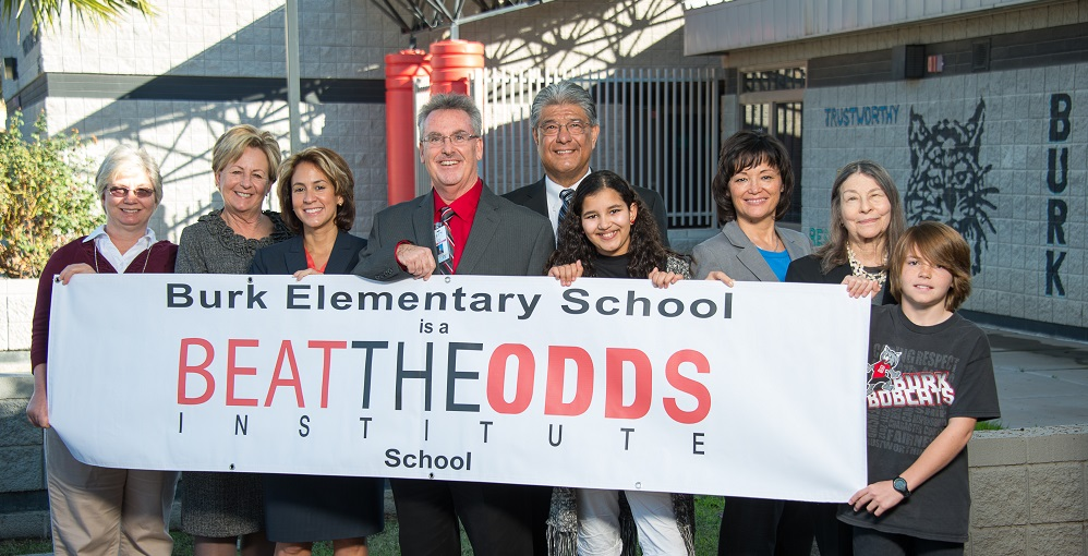 "Six Arizona schools named ""Beat the Odds Schools"" Burk-Elementary-Banner-PresentationHP"