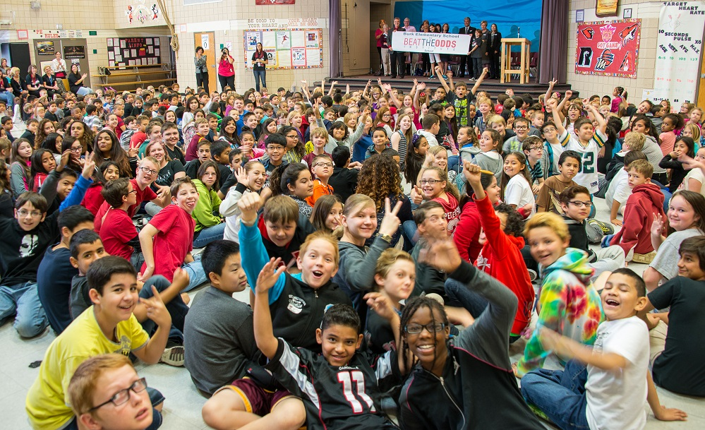 "Six Arizona schools named ""Beat the Odds Schools"" Burk-Elementary-Whole-School-PresentationHP"