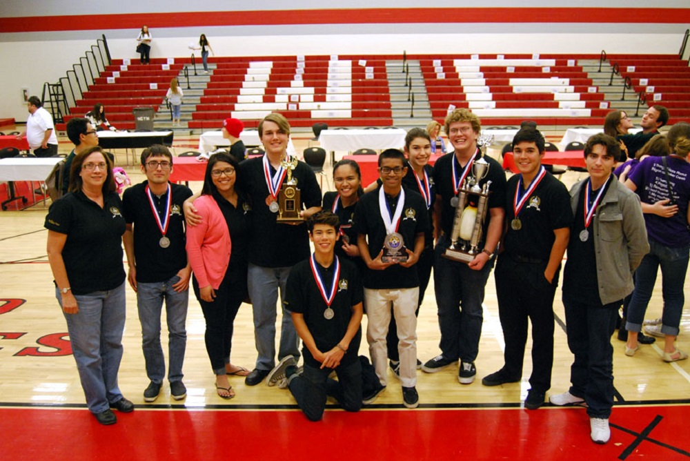 Yuma Union's Academic Decathlon teams do well in Region III competition CHS-AD-Team