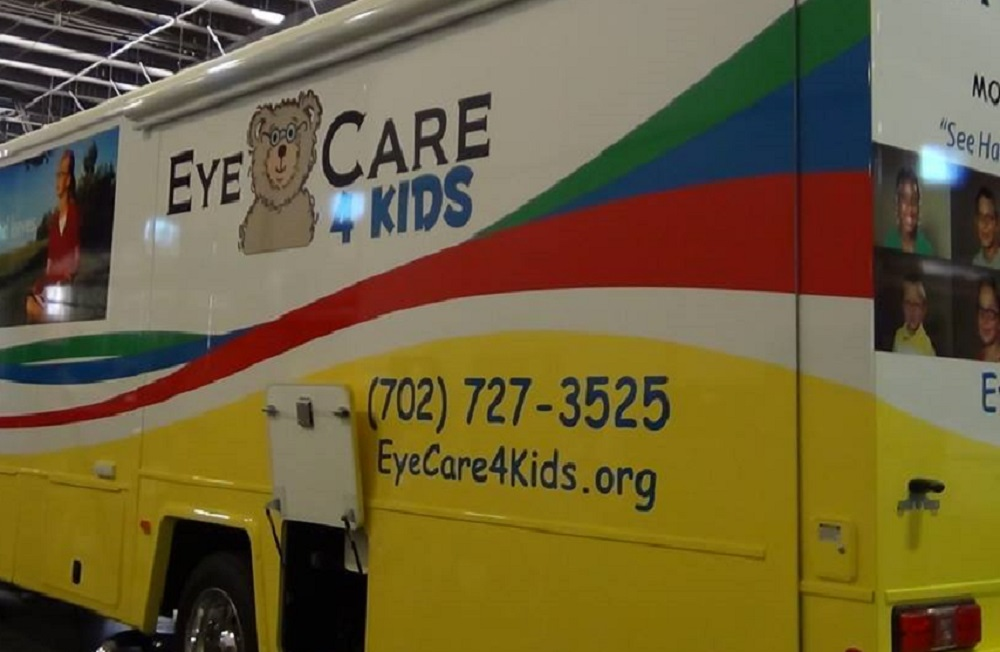 Eye Care 4 Kids Bus