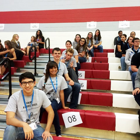 Yuma Union's Academic Decathlon teams do well in Region III competition GRHS-AD-Team-2