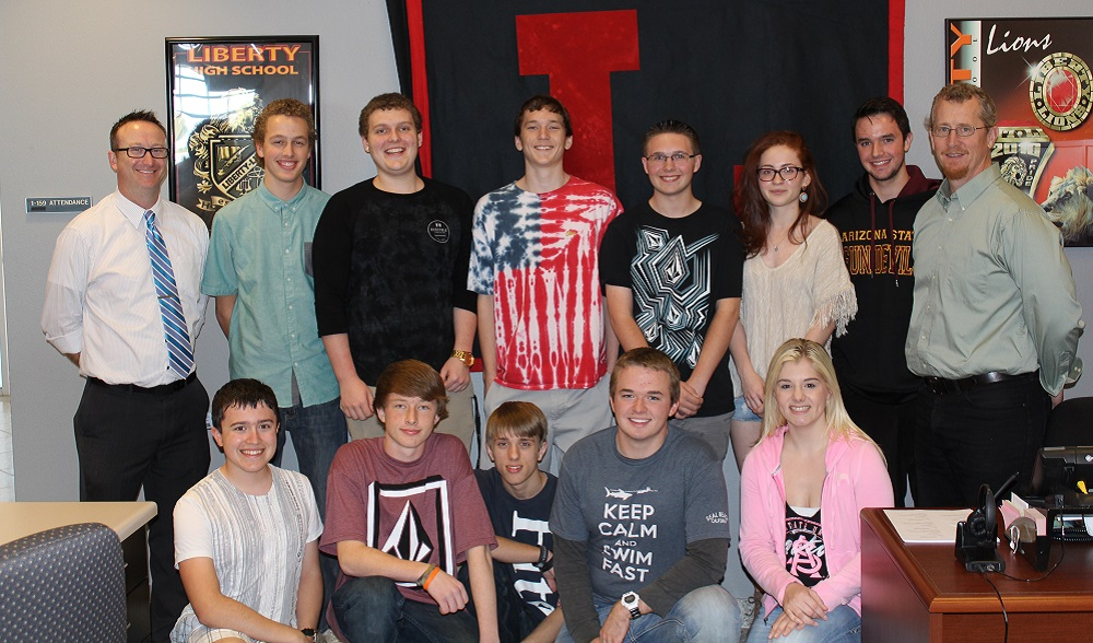 Peoria Unified students create schools of the future Liberty-High-SchoolFutureSchoolsInside