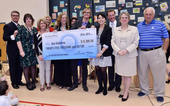 Osborn master teacher receives Milken Educator Award AnaGutierrezGroup
