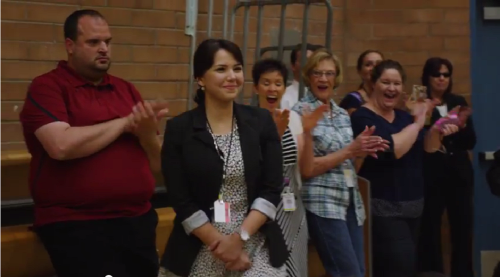 Osborn master teacher receives Milken Educator Award AnaGutierrezHP